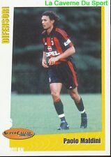 99 PAOLO MALDINI ITALIA AC.MILAN STICKER SUPER CALCIO 2001 PANINI