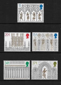 1989 GREAT BRITAIN Christmas Set MNH (SG 1462-1466)