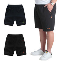 Men Quick Dry Shorts Loose Elastic Waist Mid Running Beach GYM Summer Plus 8XL