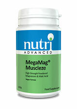 Megamag muscleze (Ultra muscleze) - Polvo 162g por Nutri Advanced-Magnesio