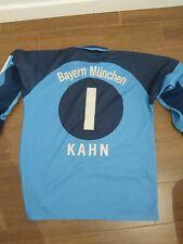 Camiseta Futbol Oliver Kahn Bayern Munich Portero Vintage Maglia Calcio Portiere
