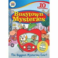 Busytown Mysteries The Biggest Mysteries Ever! DVD Richard Scarry NEW FREE Ship
