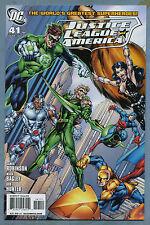 Justice League of America #41 2010 New Team Mark Bagley DC Comics m