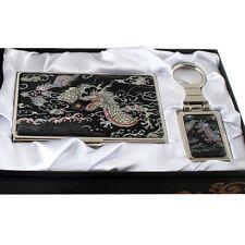 MOP Dragon Ball Design Keychain Key Ring Fob Business Card Case Holder Gift Set