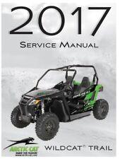 2015 arctic cat wildcat sport atv rov factory service manual