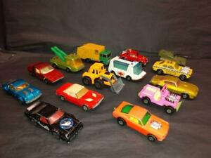 "Lot of 14 ""Played With""  Matchbox Superfast for Parts or Restore  1970's-80's L1"