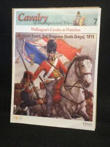 DEL PRADO COLLECTION #7 SGT.EWART 2ND DRAGOONS (SCOTS GREYS) 1815 BOOKLET