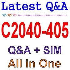 IBM Notes and Domino 9.0 Social Edition System Admin C2040-405 Exam Q&A PDF+SIM