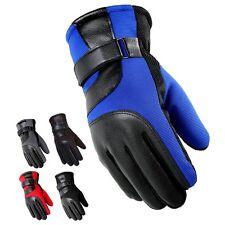 Guantes de Invierno Moto Motocicleta Térmico Cálido Pantalla Táctil Impermeable