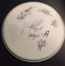 "Hellyeah Signed 13"" Remo Drumhead Vinnie Paul Sketch Pantera Autographed"