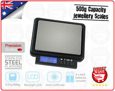 Portable Mini LCD Digital Electronic Pocket Jewellery Large Tray Scales SCP22