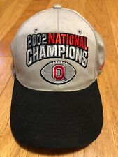 Vintage Ohio State University 2002 National Champions Nike Official Hat