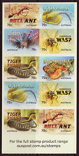 AUSTRALIA 2014 THINGS THAT STING BOOKLET UNMOUNTED MINT