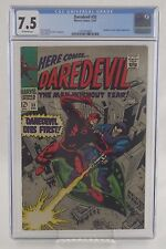Daredevil 35 cgc 7.5 OW Pages Invisible Girl & Trapster App