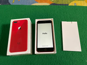 Apple iPhone 8 Plus (PRODUCT)RED - 256GB - (Unlocked) A1897 RRP£1100 b919