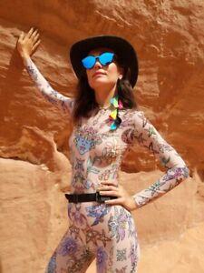 Tattoo Bodysuit Art Clothing Festival Outfit Jumpsuit