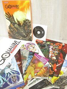 GOLI MATSUMOTO Archives GOLIALIZZE w/Posters DVD Art Works Book KONAMI 2005 Ltd
