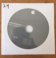 2004 Macintosh Mac AirPort Extreme 3.4 Application Software Installation CD Disc