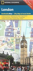 National Geographic London City Map Waterproof Free shipping
