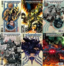 Transformers: Tales of the Fallen #1-3 (2009-2010) IDW Comics - 6 Comics