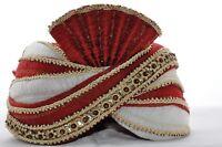 Indischer Maharaja-Turban- Paghdi Herren Fasching Bollywood Kopfbedeckung - KB58