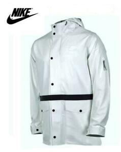 Men's NIKE 3M Flash All Over Saturday Soccer JACKET White Size L 576883 NWT NEW