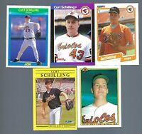 1989-98 Lot 28 cards 5 Rookies Curt Schilling Topps Fleer Score Donruss Bowman
