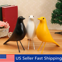11'' Bird Desk Ornament House Resin Pigeon Gift Office Home Window Table Decor