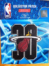 Official Licensed NBA Miami Heat 30 Seasons Iron/Sew On Patch 2017/18