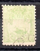 Fiji 1894 QV 2d pale green very fine used SG78 WS1786