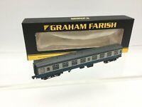Graham Farish 374-062 N Gauge BR Blue/Grey Mk 1 Corridor 2nd Coach Sc18551