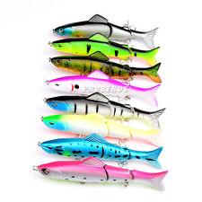 8Pcs/Lot Huge Fishing Lures Seawater Crank Bait Crankbaits Tackle 12.7cm/17.6g