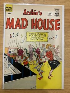 Archie's Madhouse #19 Archie Series 1962. Book Is In Great Shape!