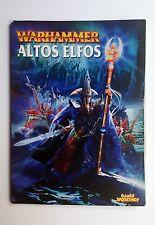 Libro de Ejército Altos Elfos (edición antigua). Warhammer. GasmesWorkShop.