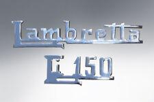 Lambretta Li 150 Legshield Badge kit S2