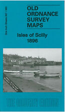 OLD ORDNANCE SURVEY MAP ISLES OF SCILLY TRESCO ST AGNES ST MARYS TEAN 1896