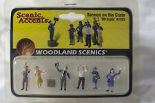 Sermon of the Crate Woodland Scenics A1925 HO Scale Figures