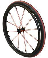 "1 paar Twin-Star Exchange Rollstuhlräder 24""  12,0mm"