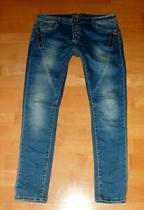 One Love Jeans Hose Trousers Pants Top blau L/XL 40/42 W31