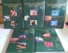 NATURALEZA SALVAJE, EDITORIAL PLANETA, 5 TOMOS CON BONITAS IMAGENES, LIBROS