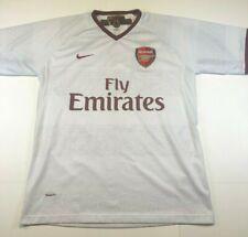 Arsenal White Football Shirt Jersey 2007-2008 Herbert Chapman Nike Adult Medium