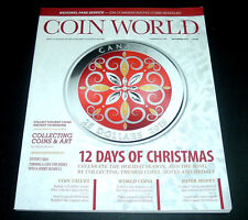 COIN WORLD MAGAZINE ~ DECEMBER 2015 ~COLLECTING HOLIDAY COINS ANCIENT & MODERN+