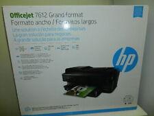 new no warranty HP Officejet 7612 wide format All-In-One color Inkjet Printer