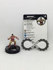 Heroclix - Iron Man 001 - Black Panther and The Illuminati - Common W/ Card