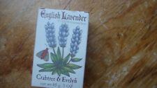 Crabtree & Evelyn English Lavender Perfumed Bath Soap 3.5 oz. NEW IN BOX