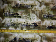 Reclaimed West Judy & Judd Niemeyer meadow hay rake fence JN C2902 tt fabric