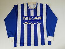 MAILLOT FOOTBALL PORTE WORN SHIRT ANCIEN VINTAGE MAGLIA UHLSPORT NISSAN N°12