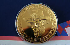 1998 Richard Petty 40th Anniversary Tribute Silver Medal Franklin Mint E3246