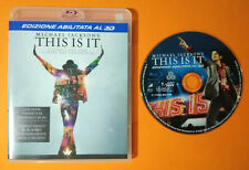 BLU-RAY Ita Musicale MICHAEL JACKSON'S This Is It PROMO no dvd cd lp vhs mc (D7)