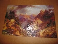 Vintage 1972 Springbok Puzzle The Grand Canyon 500 Pcs Complete Thomas Moran